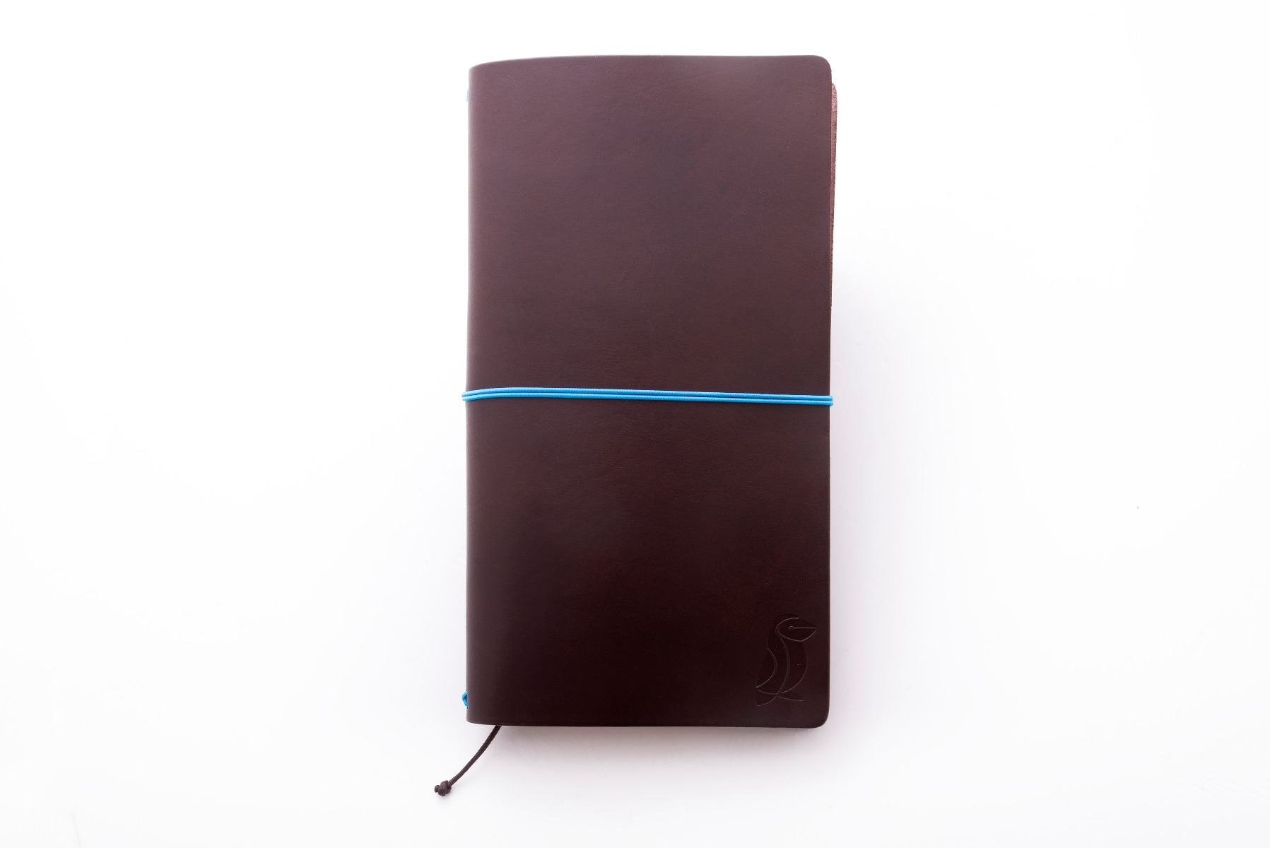 Libreta Pack Traveler Surf De Cuero Chocolate