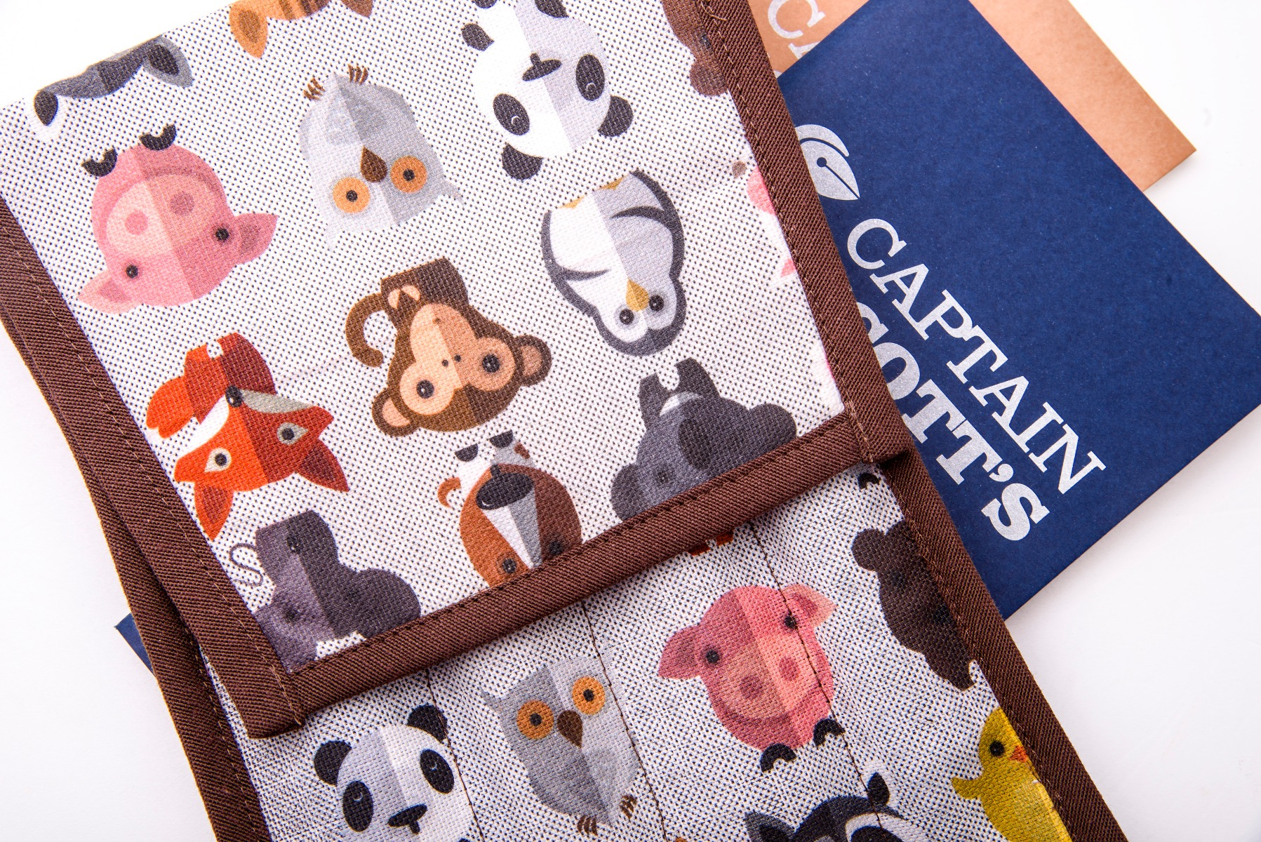 Case For Notebooks And Writing Accessories - Animals