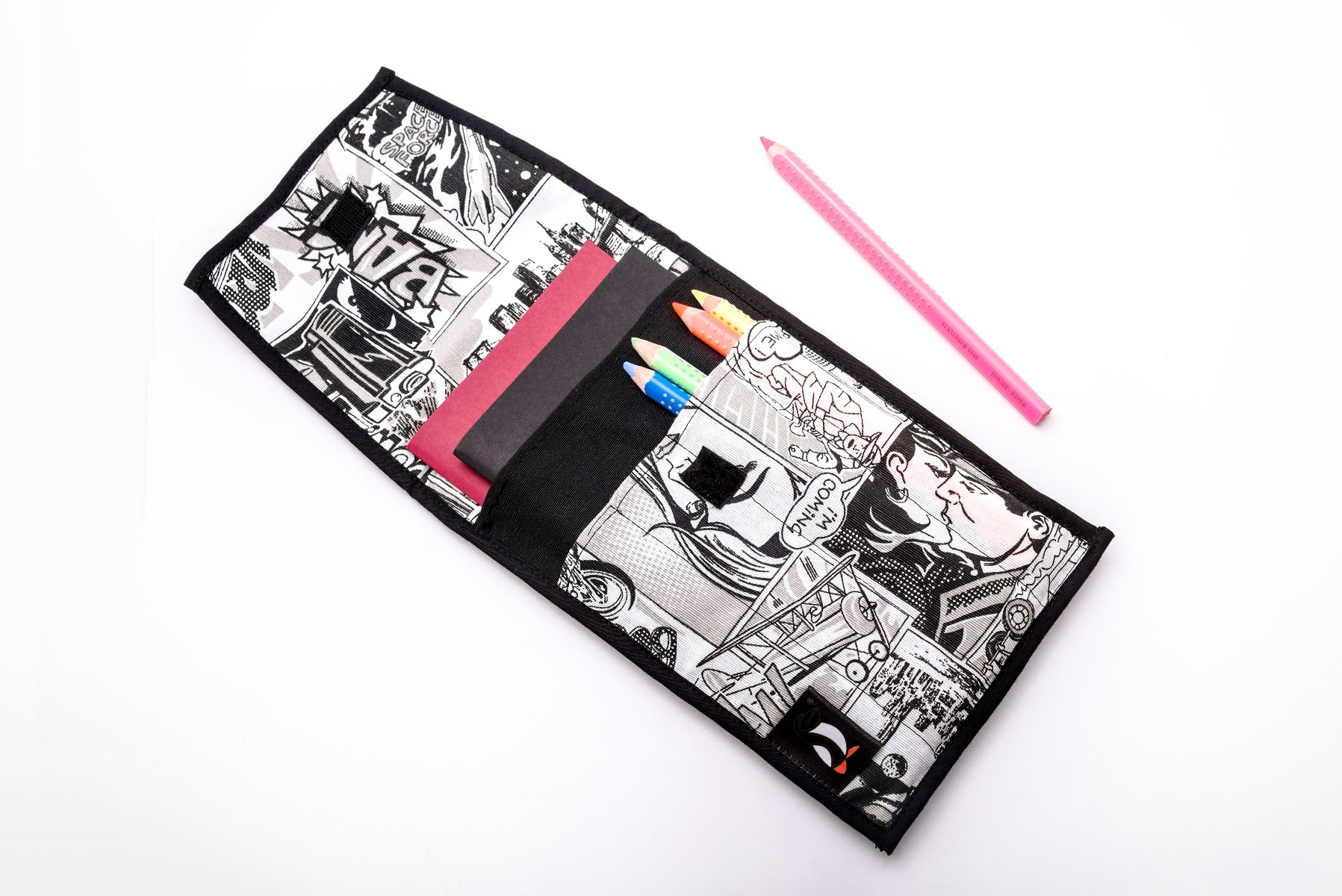Case For Notebooks And Writing Accessories - Comic