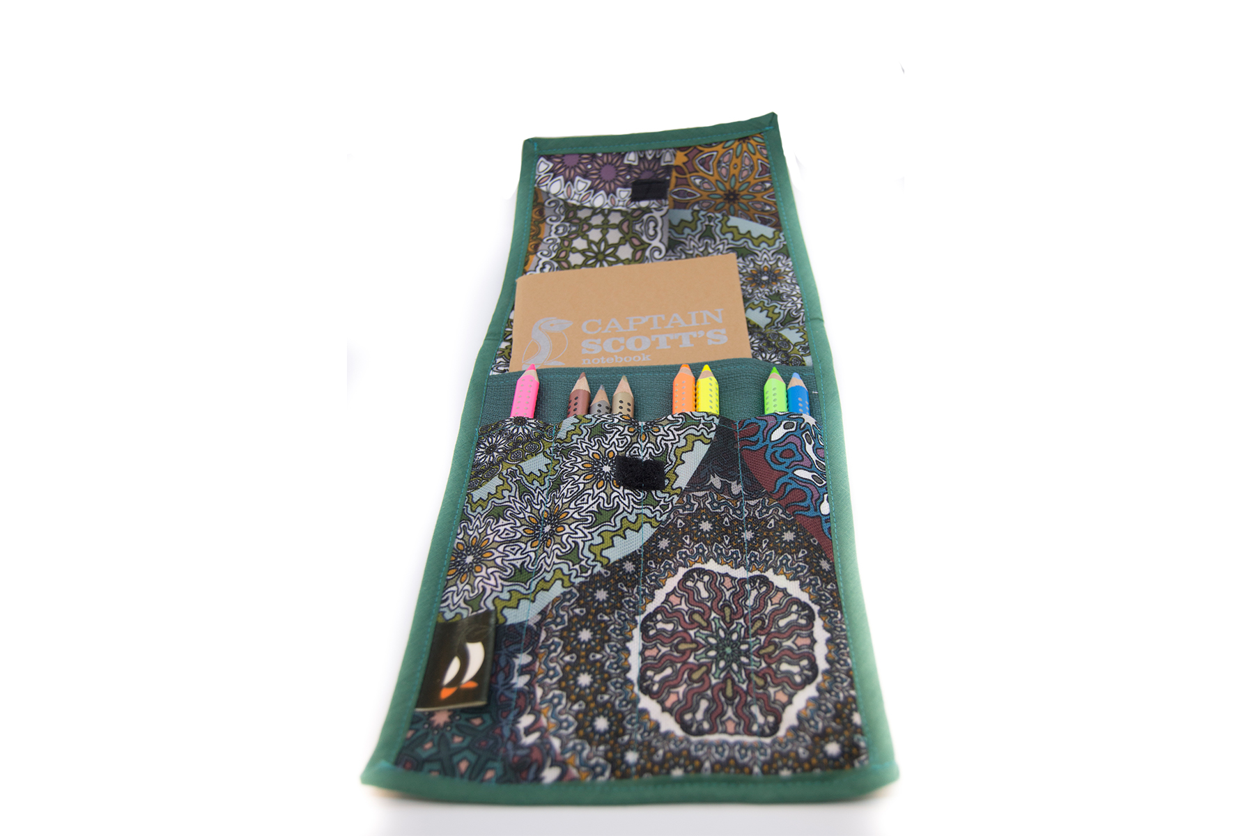 Case for notebook and accessories writing -  Mandalas