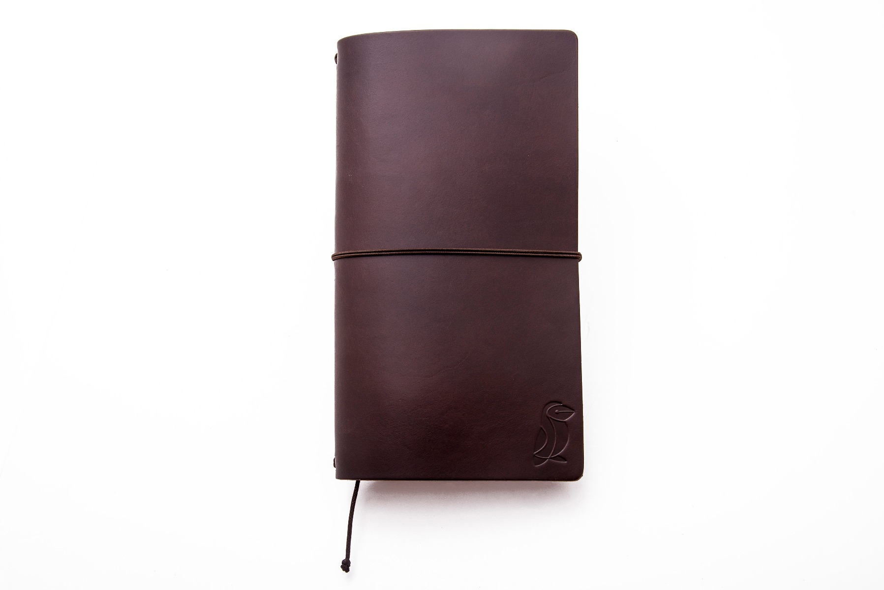 Libreta Traveler de Cuero Chocolate