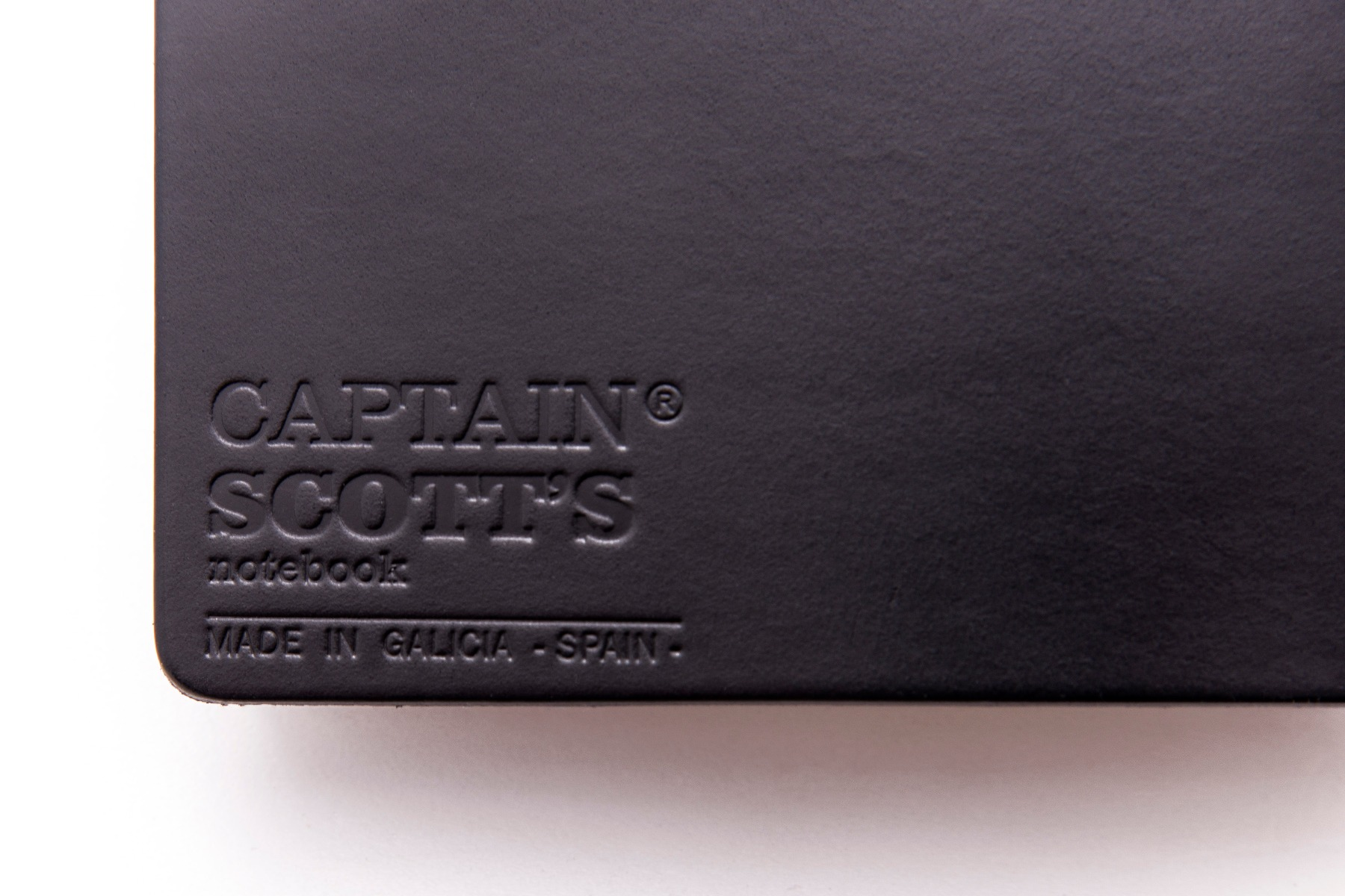 Traveler Notebook - Black Leather